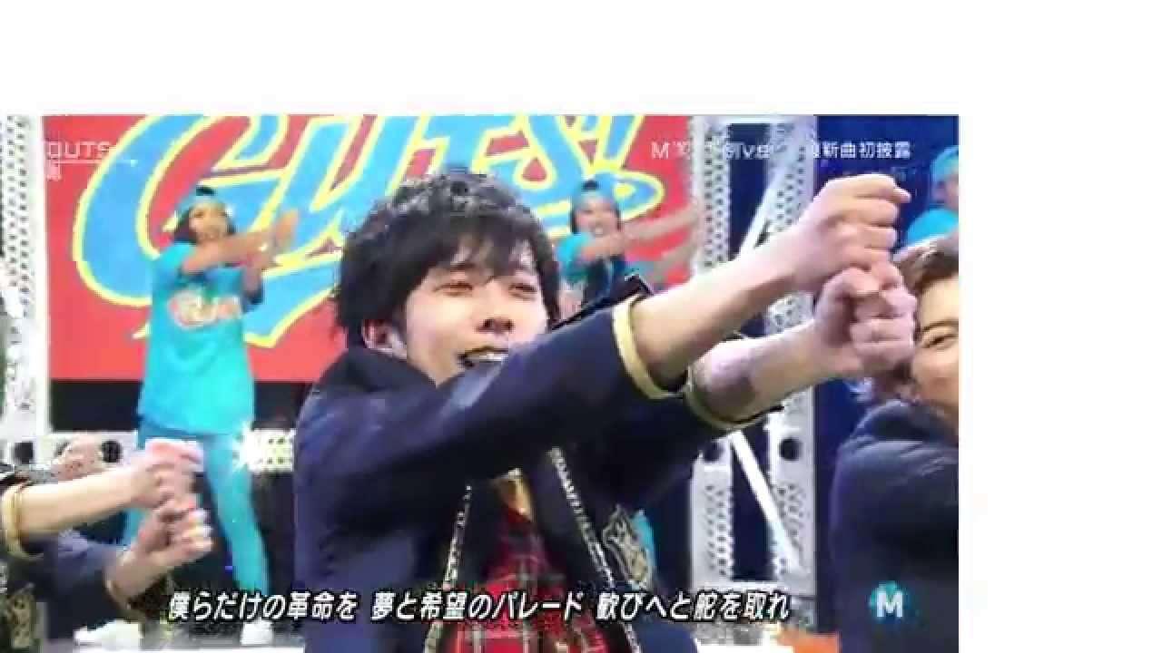 GUTS !/嵐 MUSIC STATION 2014.05.02 - YouTube
