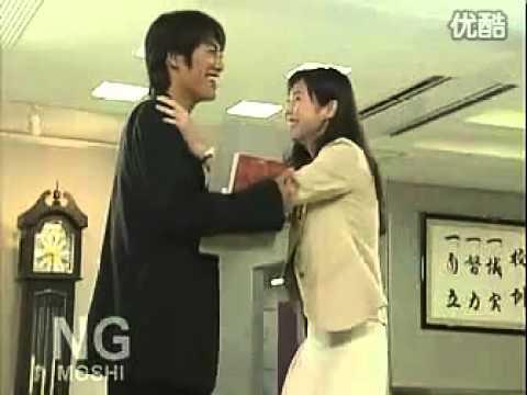 松岛菜菜子 反町隆史 GTO NG 花絮 搞笑的抽耳光 - YouTube
