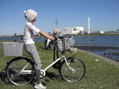 自転車の 自転車 赤ちゃん 母親 : 赤ちゃんを抱っこ紐で自転車に ...