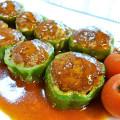 簡単美味しい☆ピーマンの肉詰め♪ by santababy [クックパッド] 簡単おいしいみんなのレシピが173万品