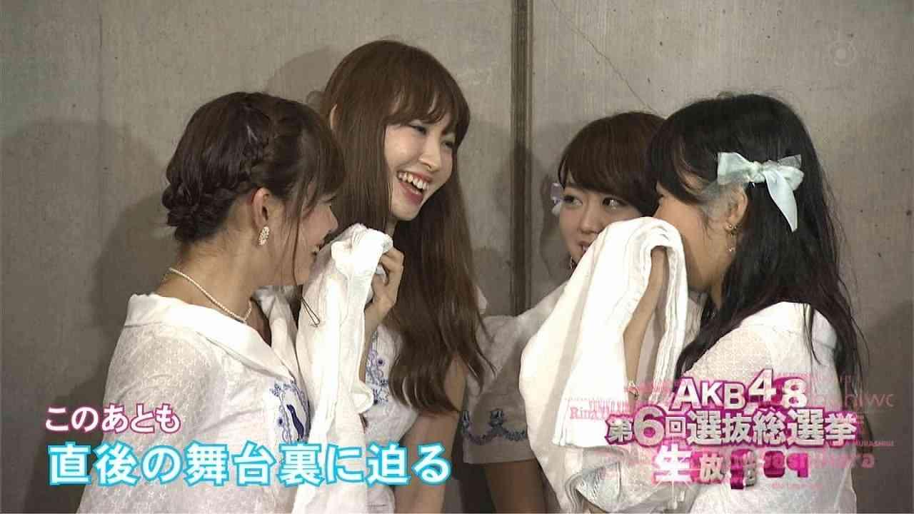 AKB48選抜総選挙後、スキャンダルメンバーが集まって慰め合う画像が話題にww