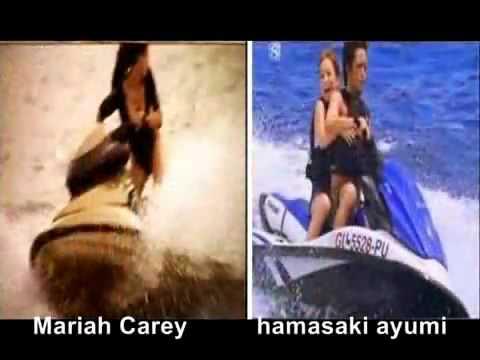 [Japanese Pop] Copy Machine Ayumi Hamasaki Japanese singer Fake Country JAPAN.flv - YouTube