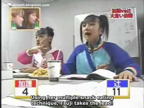 Tsuji and Kago Snack Battle [SUB] - YouTube