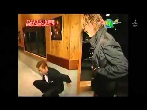 X JAPANのYOSHIKIが自宅を公開 - YouTube