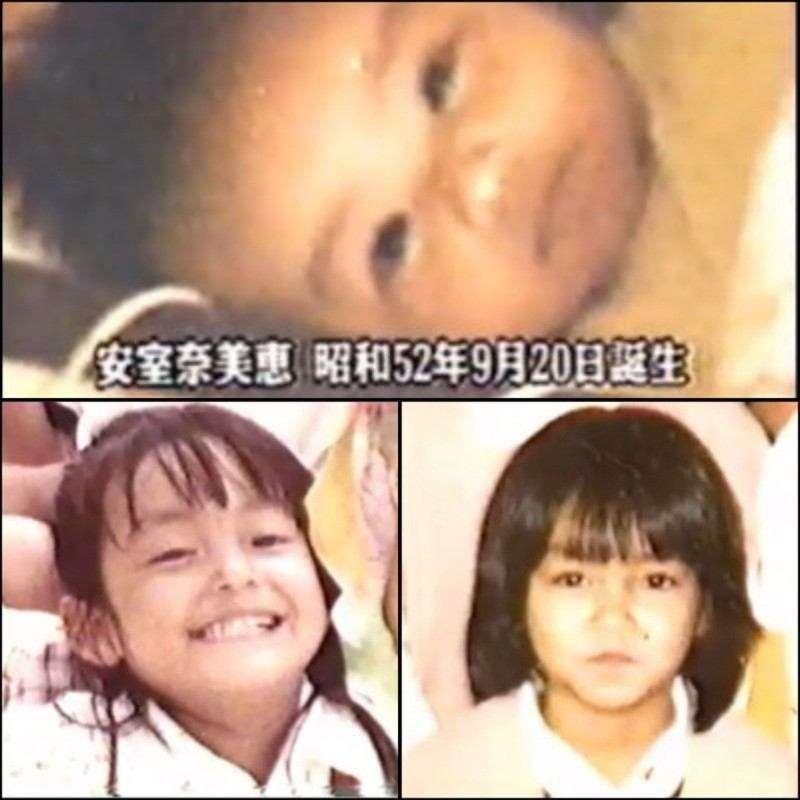 子供時代の安室奈美恵