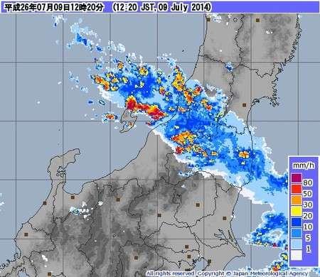 新潟・佐渡市で50年に一度の大雨 (ウェザーマップ) - Yahoo!ニュース
