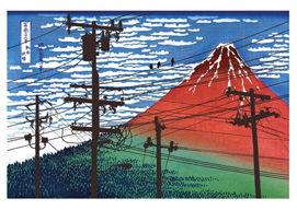 痛いニュース(ノ∀`) : 『電柱はこんなに景観を台無しにしています』という風刺画像、むしろカッコいいと話題に - ライブドアブログ