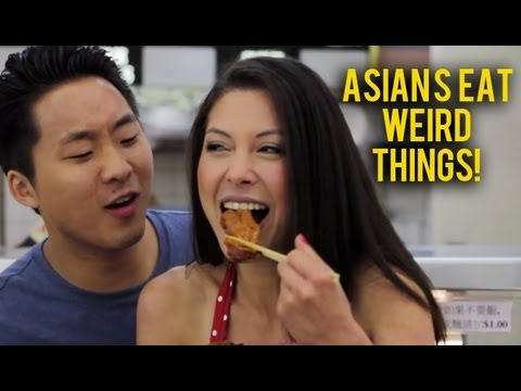 Asians Eat Weird Things ft. AJ Rafael (MUSIC VIDEO) - Fung Brothers - YouTube