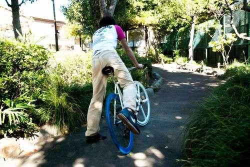 ... 罰則の対象となる」自転車のNG