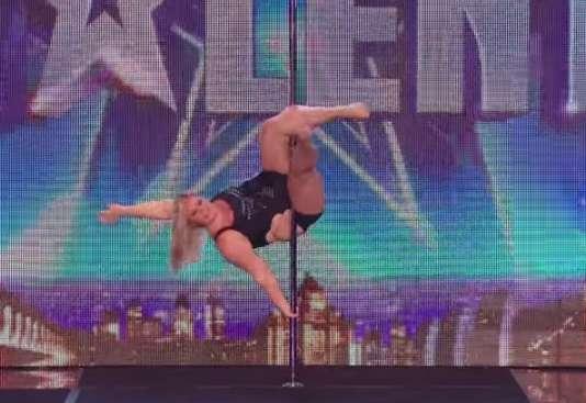体重100キロのポールダンサーに大絶賛の声! 衝撃的なダンスの動画再生回数は1,000万回超え|ウートピ