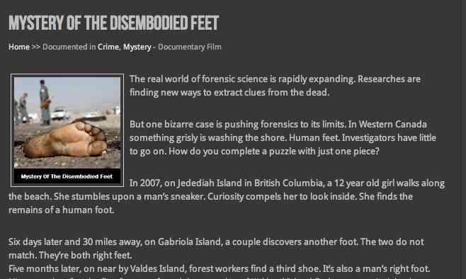 「切断された足」が海からやって来る — 謎のスニーカー未解決事件!|TOCANA