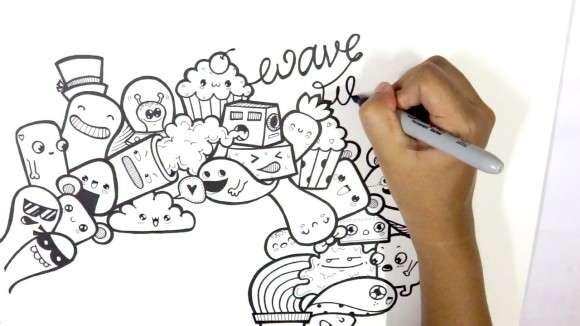 「教科書に落書き」や「いたずら書き」に集中力と記憶力を上げる効果
