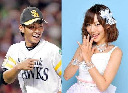 元AKB48野中美郷さん、ソフトバンクの今宮健太内野手と結婚へ