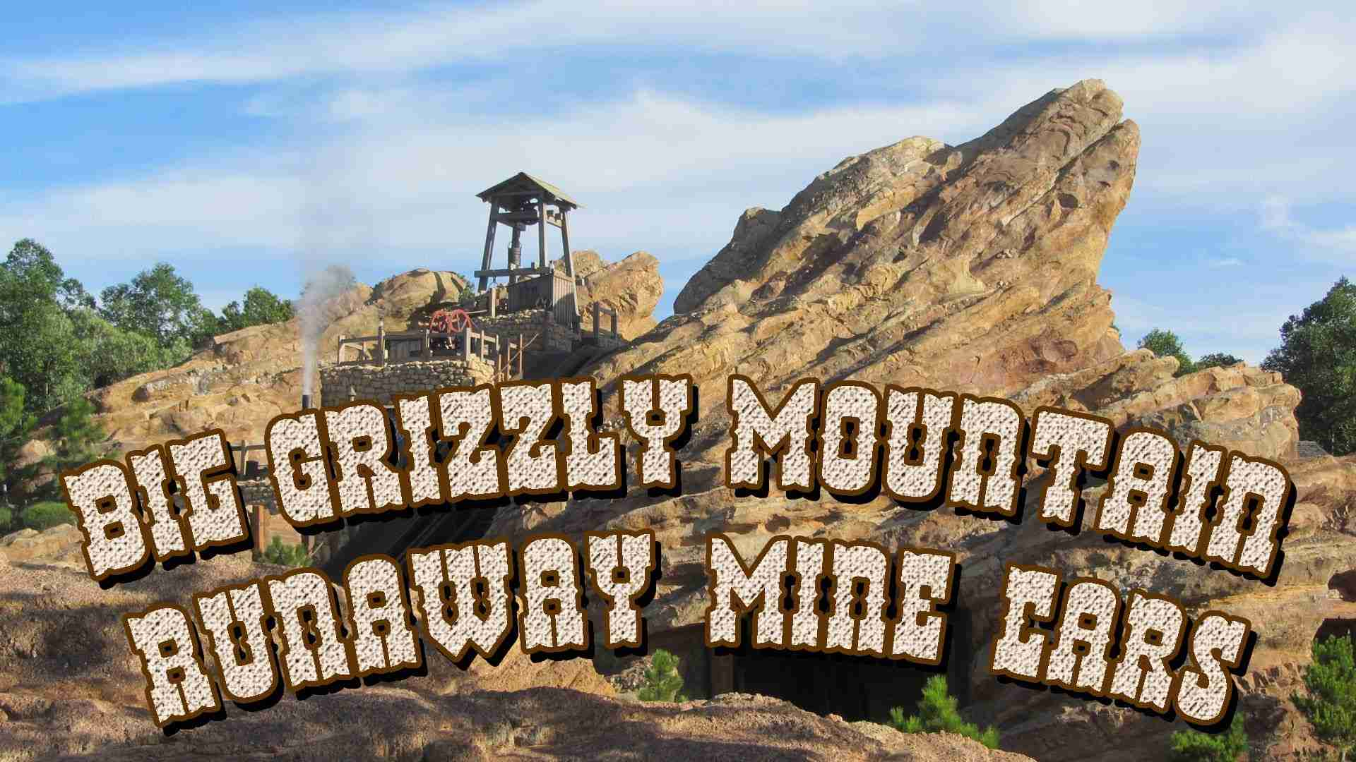 HKDL - Big Grizzly Mountain Runaway Mine Cars 灰熊山極速礦車 (Front Row POV) - YouTube