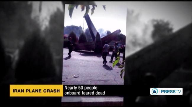 イランで小型旅客機墜落、48人死亡…住宅地に突っ込む