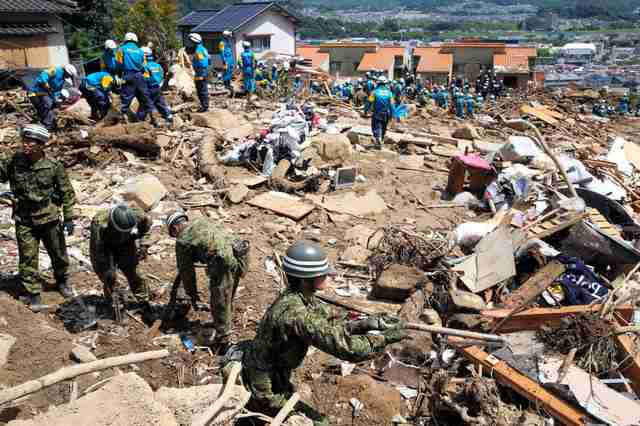 【広島土砂災害】行方不明者51人、死者は39人に 【広島土砂災害】行方不明者51人、死者は39人