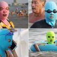 【画像】来年の夏の水着はコレ!? フェイスキニが世界的に流行の可能性