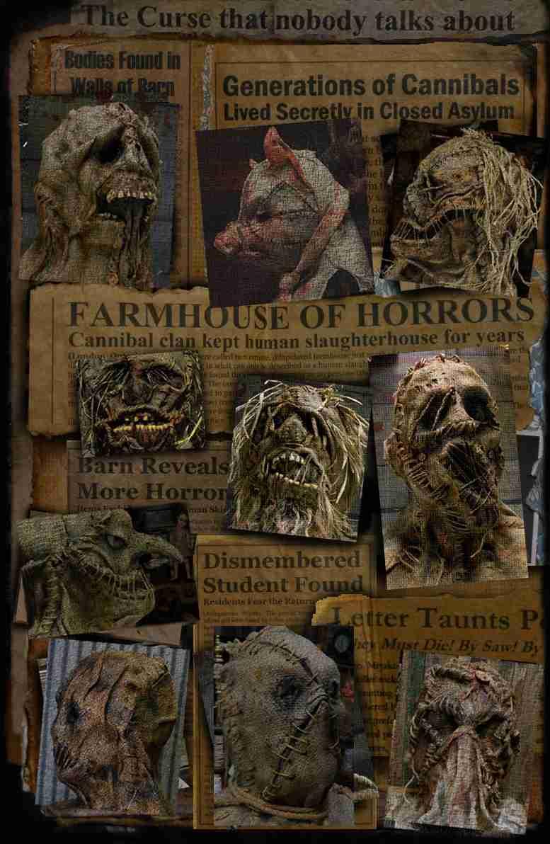 scarecrow masks,Halloween masks,props,antiques,Halloween decor