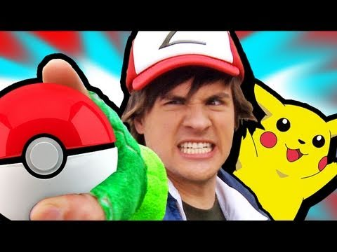 POKEMON IN REAL LIFE! - YouTube