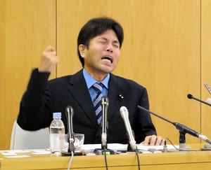 【号泣議員】野々村竜太郎氏、辞表を提出し議員辞職へ
