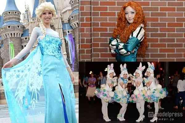 「アナ雪」エルサ&アナがランドに溢れる ディズニーハロウィーン、仮装ゲストが集結<写真特集> - モデルプレス