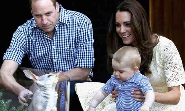 Prince George visits Sydney's Taronga zoo on royal tour - video | UK news | The Guardian