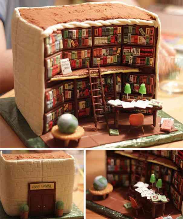 食べたいかどうかは別として凄いケーキの画像:ハムスター速報