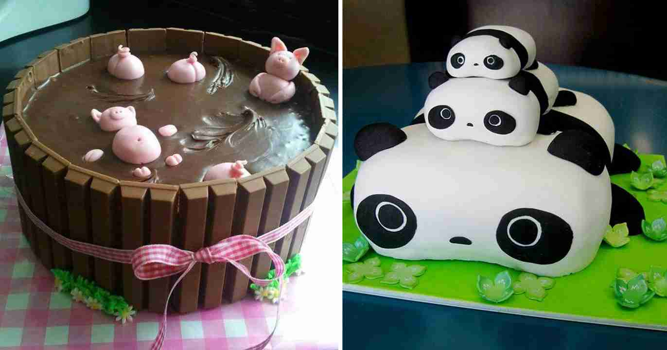 20 Of The Most Creative Cakes That Are Too Cool To Eat | Bored Panda