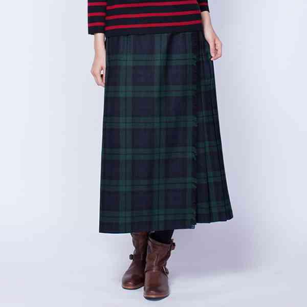 定番の秋冬ファッション