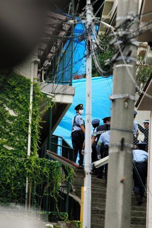 逮捕の47歳男 住民とのトラブル絶えず 神戸・長田 (神戸新聞NEXT) - Yahoo!ニュース