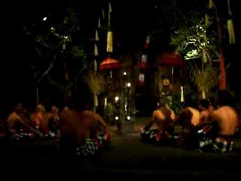 バリ島 ケチャダンス - YouTube