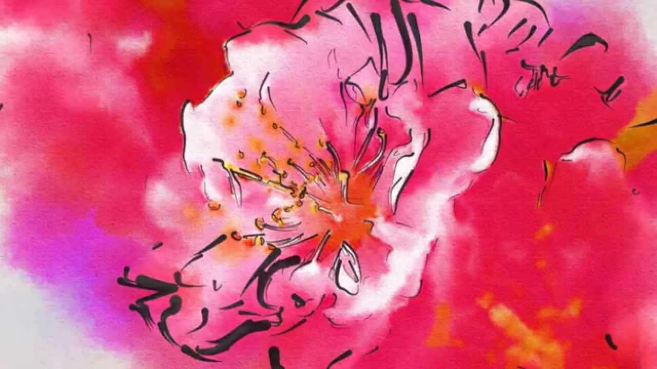花の街   唱歌 - YouTube