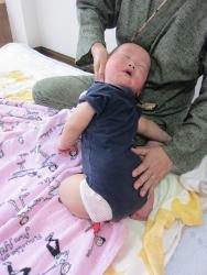 首まわり2|赤ちゃんの成長記録