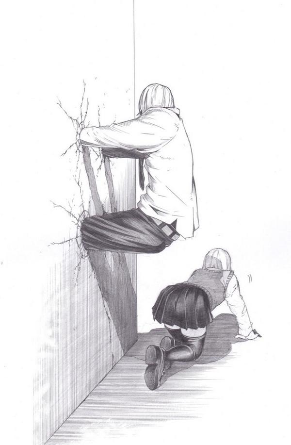 【新ジャンル】「壁ドン」に代わる「壁ズボ」が登場www