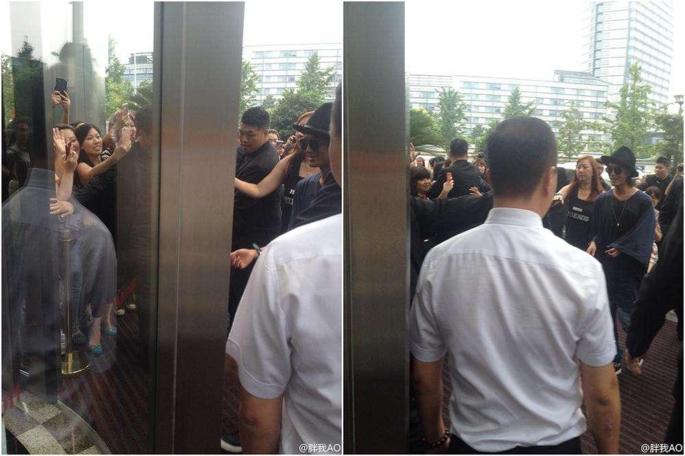 赤西仁が初の中国ライブ!熱狂ファンがホテルまで追っかけ、警備員ともみ合いも