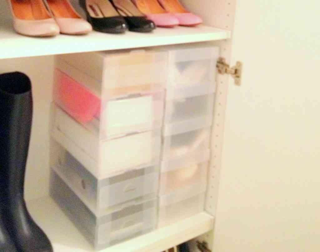 靴の収納方法