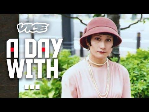 密着24時!現代に生きるモガ - 1920s Modern Girl - YouTube