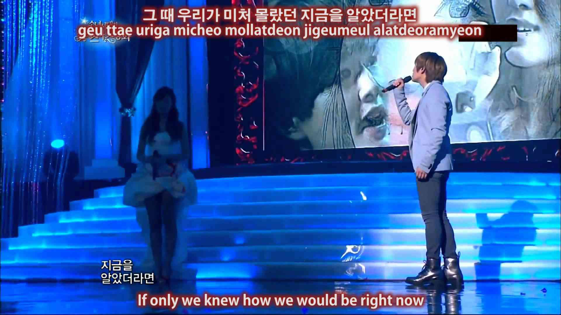 111224 Onew and Jessica One Year Later Eng Sub + Han/Rom - YouTube