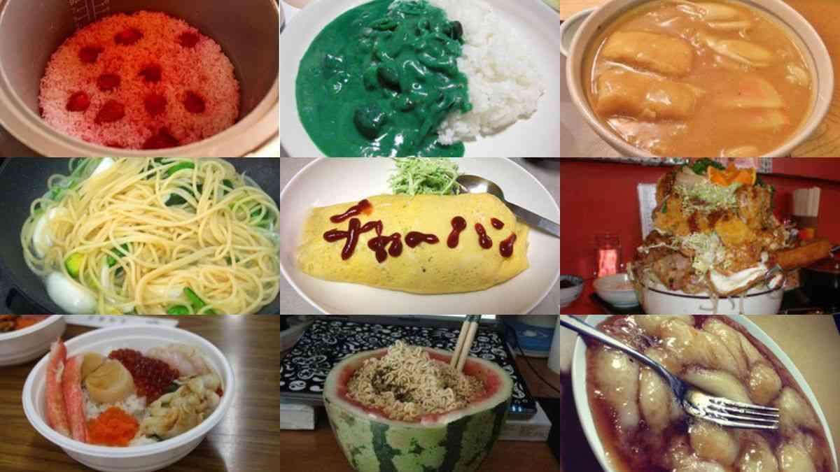 【画像】「メシマズ.net」の料理が衝撃的すぎる