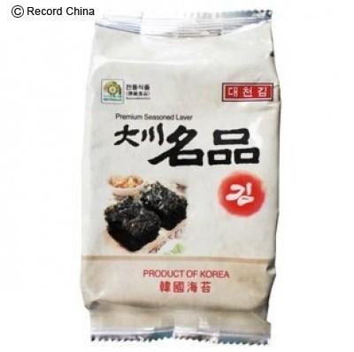 韓国のりから基準値を超える発がん性物質―中国メディア (Record China) - Yahoo!ニュース