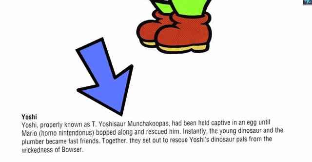 知ってた?『スーパーマリオブラザーズ』ヨッシーのフルネームがすごいwww