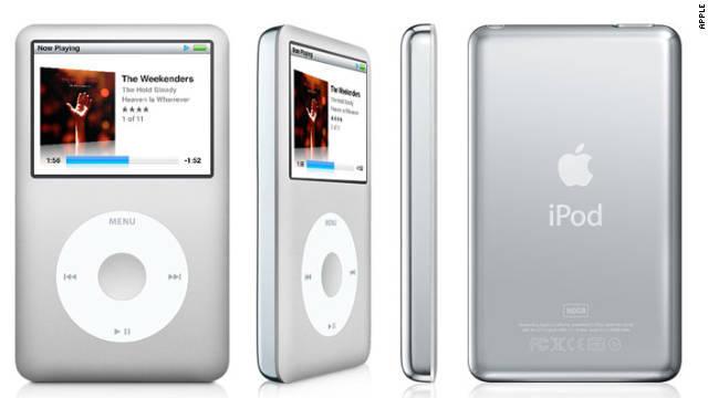 CNN.co.jp : さよなら、iPod classic