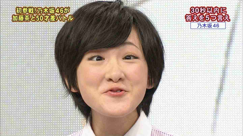 乃木坂46白石麻衣の変顔がブサイクだと話題に