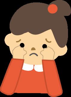 泣くタイミングが人とずれてる人