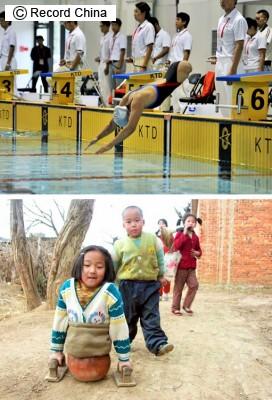 トラックにひかれ両足を失った「バスケットボールの女の子」、不運に負けず競泳で金メダル!