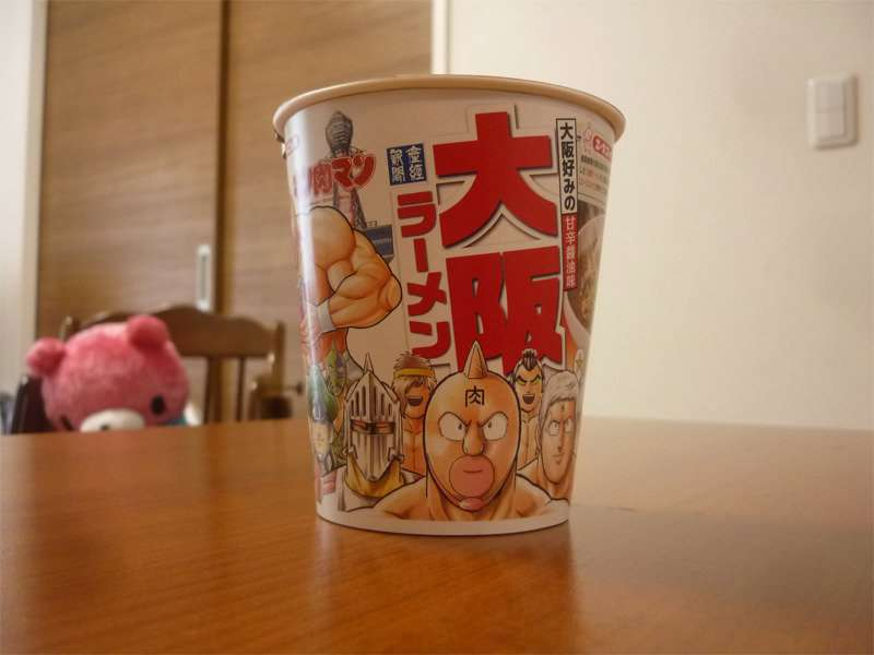 大阪ラーメンとキン肉マンのコラボ|肉女子モモコのへのつっぱりはいらんですよ!