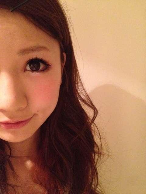 半顔メイク女子。|ももオフィシャルブログPowered by Ameba