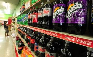 コカ・コーラなど米飲料大手3社、肥満対策を約束 写真1枚 国際ニュース:AFPBB News