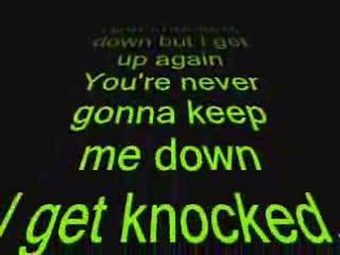 Tubthumping (I Get Knocked Down) Lyrics - YouTube