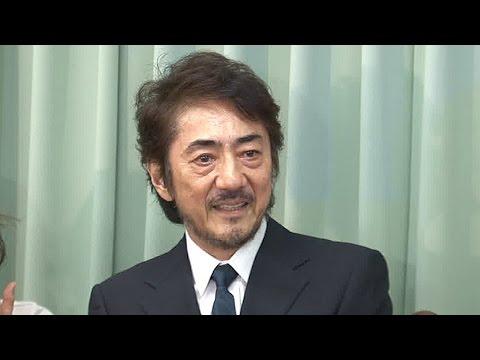 市村正親、がん発見は妻・篠原涼子のおかげ - YouTube